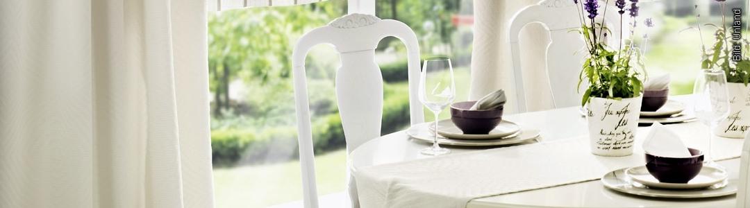 Alle Arten von Heimtextilien - nicht nur für den Tisch. Auch Decken, Kissen und vieles mehr. Wir beraten Sie gerne!